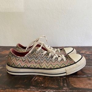 Converse Missoni All Star Low Top Sneakers